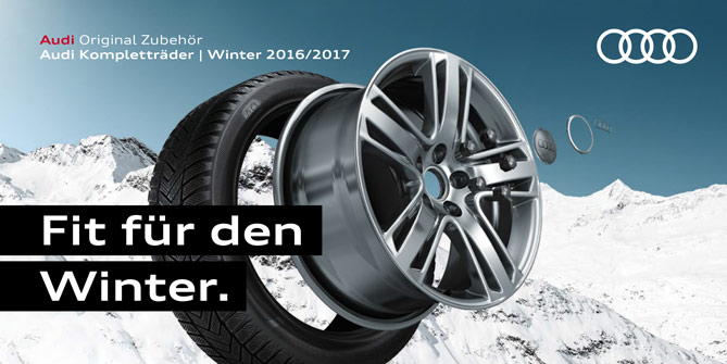 Audi - Fit für den Winter
